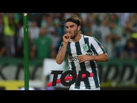 4 Goles Increíbles De Sebastián Pérez Con Nacional   El Top De Win Sports