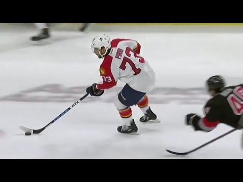 Brandon Pirri Fantastic give-and-go play for the Florida Panthers