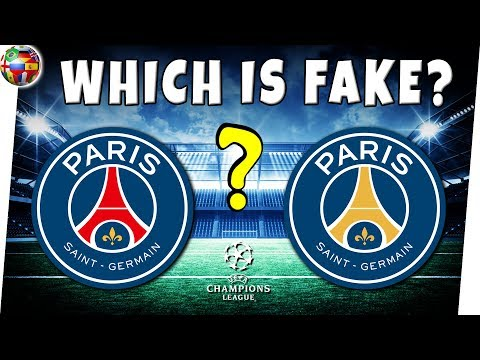 Soccer Quiz | Which Soccer LOGO Is  FAKE And Which Is REAL? | Top 10 Football Clubs 2019 | 90% FAIL