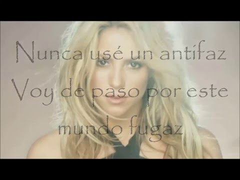 Shakira - Gitana (letra/lyrics)