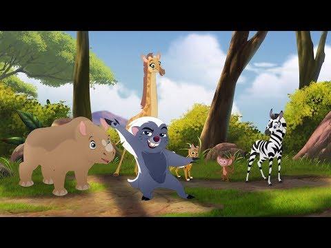Lion Guard: Teke Ruka Teleza! | Babysitter Bunga song