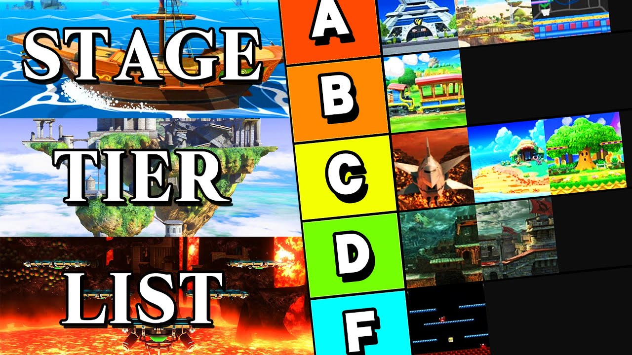 Ranking EVERY Stage in Smash Bros. Ultimate thumbnail