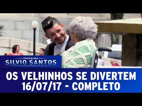 O Velhinhos se Divertem | Câmeras Escondidas (16/07/17)