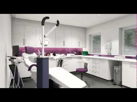 Bespoke Dental Surgery Exterior And Interior Animation
