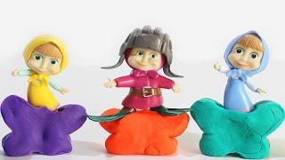 МАША И МЕДВЕДЬ Новые серии Развивающие мультики для детей Учим цвета Играем вместе Видео с Машей