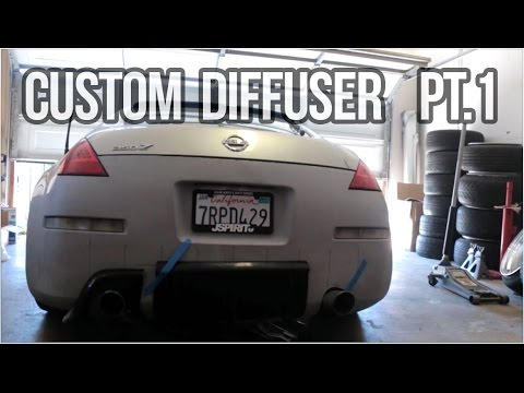 Making a Custom Diffuser pt 1