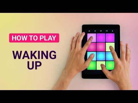 How To Play: WAKING UP - DRUM PAD MACHINE