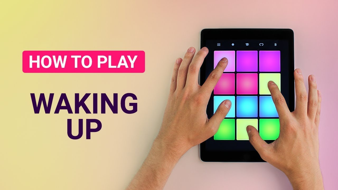 how to play waking up drum pad machine youtube. Black Bedroom Furniture Sets. Home Design Ideas