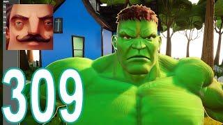 My New Neighbor Hulk Act 1 Hello Neighbor Gameplay Walkthrough