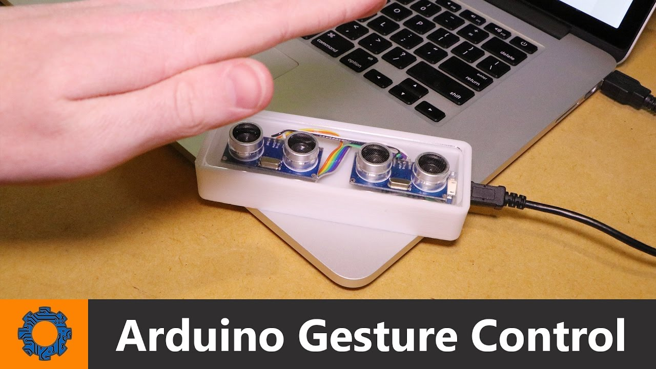 Arduino pc gesture control youtube