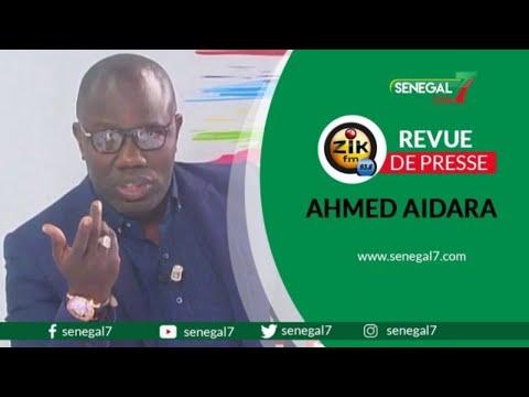 🔴Revue de presse (Wolof) Zik Fm du vendredi 17 juillet 2020 avec Ahmed Aidara