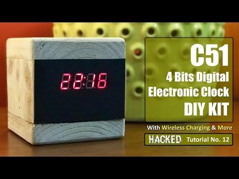 DIY - Wooden Clock