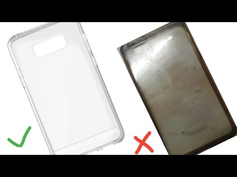 How to Clean Your Transparent cover How to Remove Your Yellowish Phone Cover Mobile