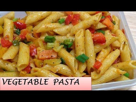 indian-style-vegetable-pasta-|-easy-&-tasty-pasta-|-chunky-vegetable-pasta