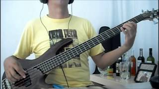 Paradise lost - one second - bass cover