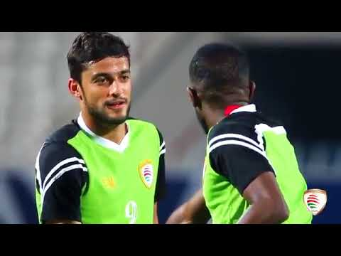 Oman national team player Saad Suhail welcomes fans to Kuwait