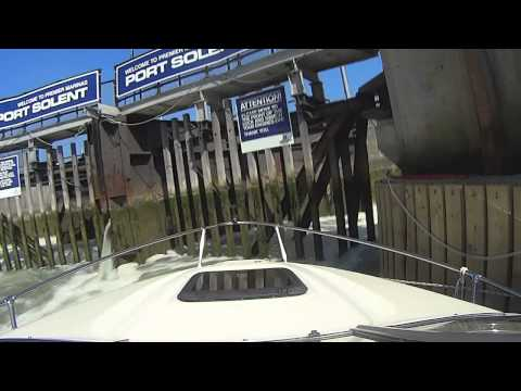 South Coast Motorboating 2 Newhaven Harbour to Portsmouth, Port Solent