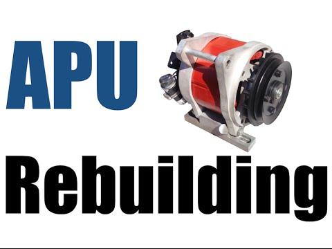 APU, Auxiliary Power Unit, Rebuilding