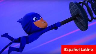 Pj masks eroes en pijamas español latino nuevo capitulo catboy gatuno y el salto excavador completo
