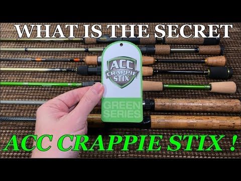 ACC CRAPPIE STIX | Crappie Rod Review