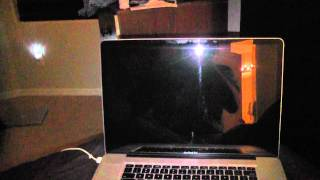 Macbook Pro Apple OSX Lion Bootup Speedtest on SSD Drive
