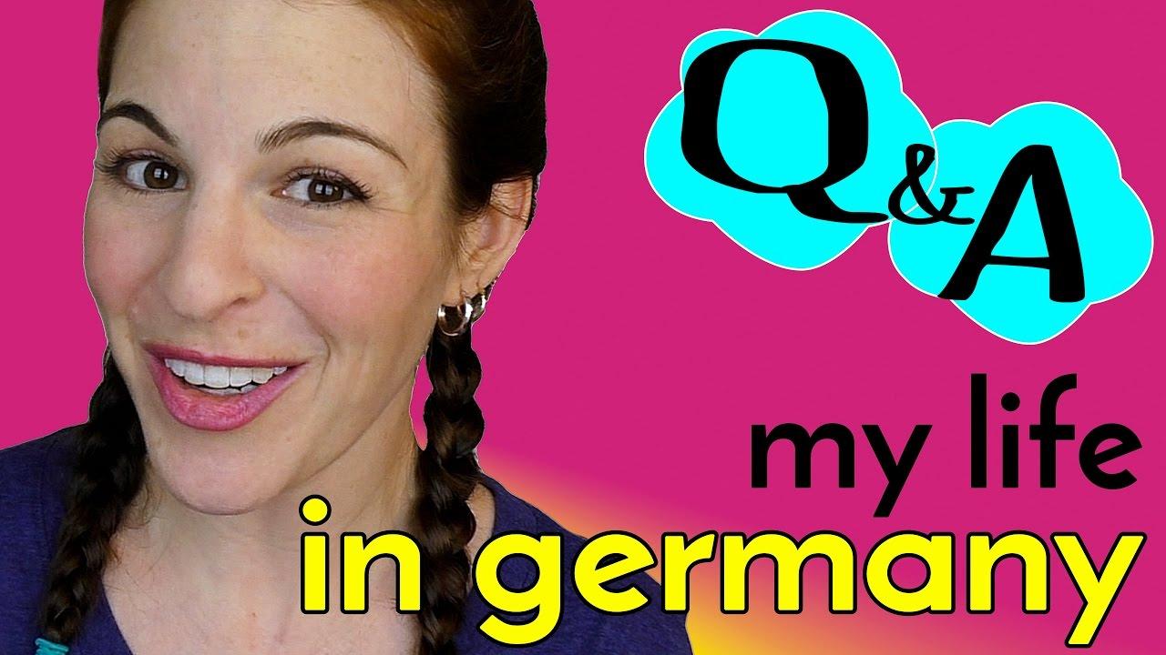 My friend in german female