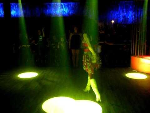 Arianna Evans Performing Her Latin Mix @ Club Karma