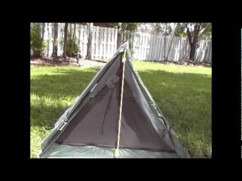 Seam Sealing and Waterproofing- 1 Man Tent