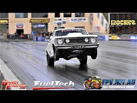 FAIRXW DANDY ENGINES TWIN TURBO XW FAIRMONT 7.15 @ 202 MPH thumbnail