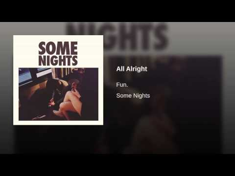 All Alright