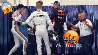 Max Verstappen FIGHTS Esteban Ocon after F1 Brazilian GP 2018!