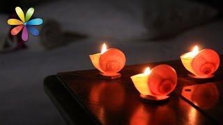 видео Магия новогодних свечей