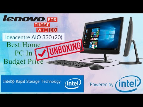 Lenovo | Ideacenter AIO 330 | Unboxing | Features Of Best Home PC