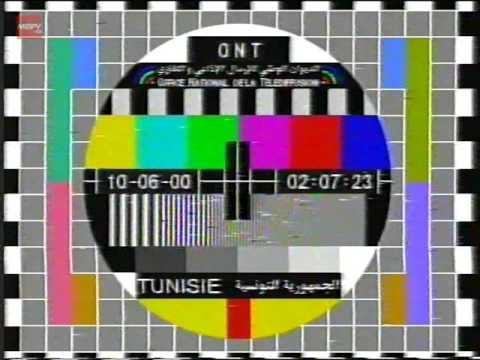 ERTT - Tunis 7 / LJBC - Al-Jamahiriya Satellite Channel - Test card - 10.06.2000
