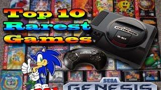 Top 10 Rarest Sega Genesis Games | Most Exspensive Sega Games