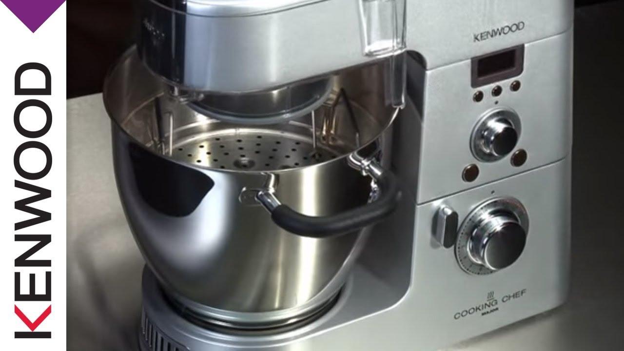 Kenwood Dampfgareinsatz Zubehor Cooking Chef Kuchenmaschinen Youtube