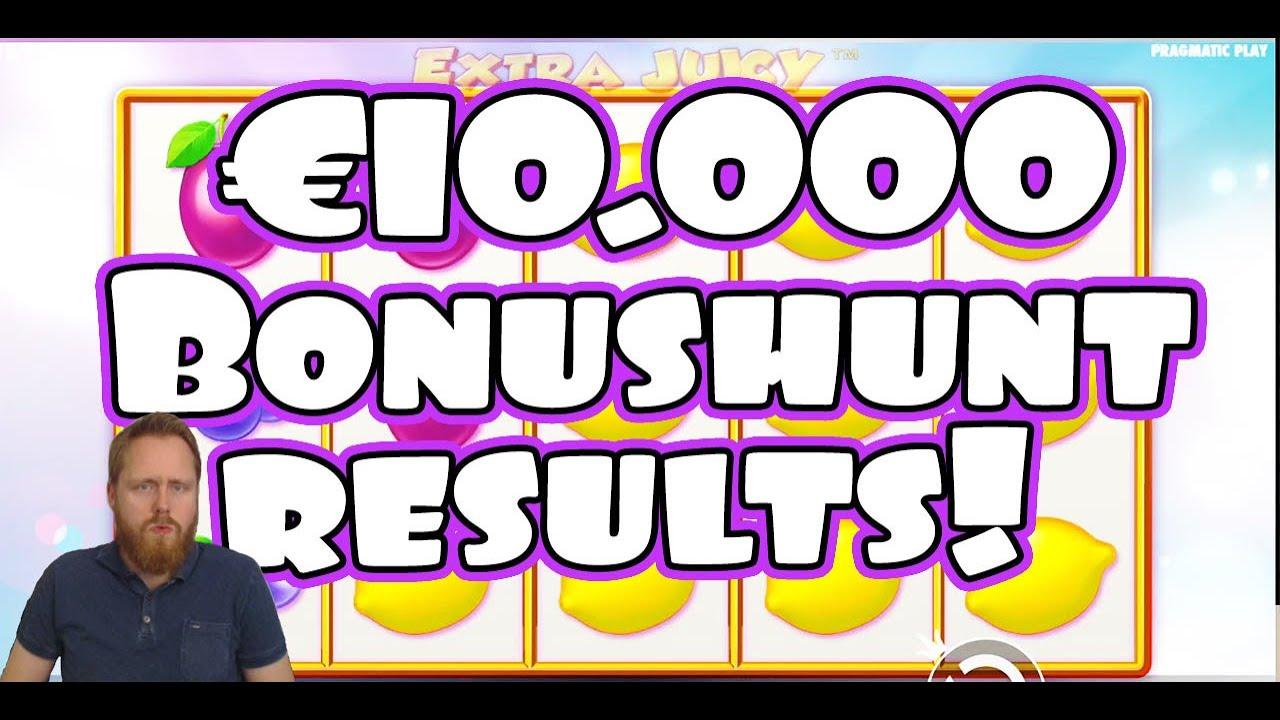 Results €10 000 Bonushunt!
