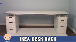 New Home Office Ikea Desk Hack