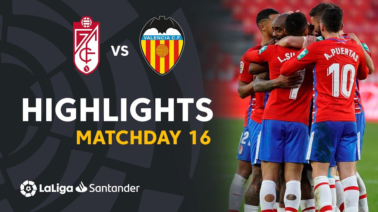 Download Highlights Granada CF vs Valencia CF (2-1)