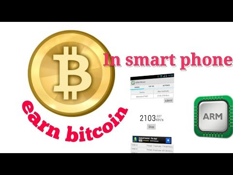 Arm Bitcoin Miner  To Mine Bitcoin In Android Smart Phone