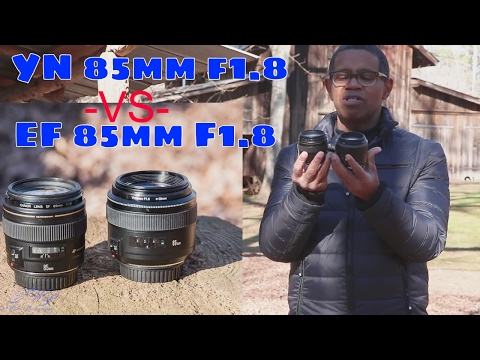 Yongnuo YN 85mm f1.8 Lens Review and Comparison with EF 85mm f1.8 (pt. 2)