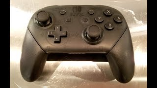 Classic Game Room - NINTENDO SWITCH PRO CONTROLLER review