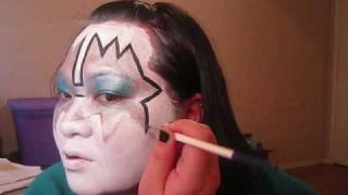 KISS Ace Frehley - Face Painting Design Thumbnail