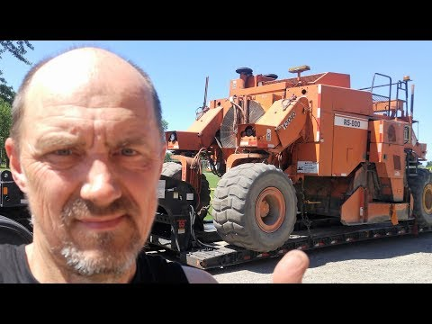Heavy Haul TV: Episode #554 -- 71,000 LB RS-800 Road Pulverizer