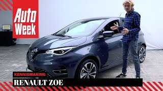 Renault Zoe - Eerste Kennismaking - English subtitles