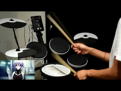 ChäoS;Child OP Full -【Uncontrollable】by Kanako Itou - Drum Cover