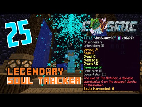 CosmicPVP Factions Ice Planet S2 E25 - LEGENDARY SOUL TRACKER!!!!