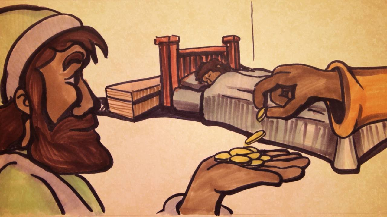 Speed Sketch Bible Stories: The Good Samaritan (Narration ...