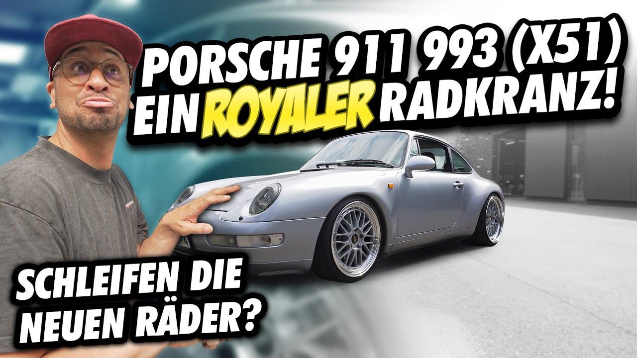 JP Performance - Ein royaler Radkranz | Porsche 911 993 X51