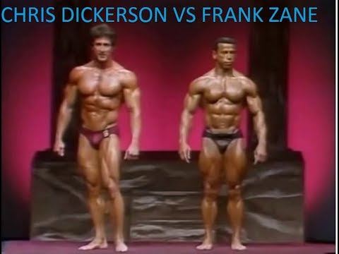 CHRIS DICKERSON VS FRANK ZANE IN 1982 MR.OLYMPIA(TWO OF THE CLASSIC CHAMPIONS)